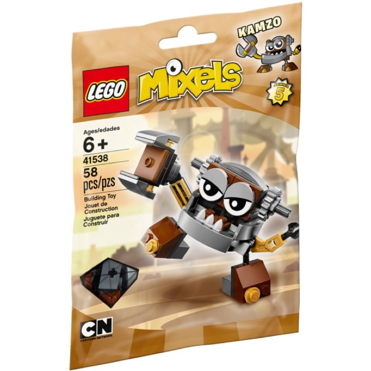 LEGO Mixels Sets: 41538 Series 5 Kamzo NEW