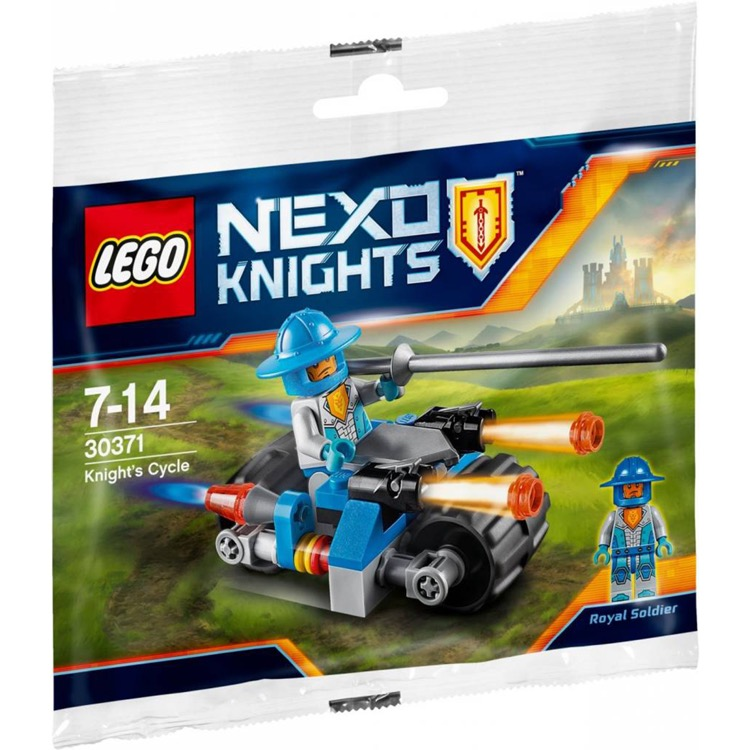 LEGO Nexo Knights Sets: 30371 Knight's Cycle NEW