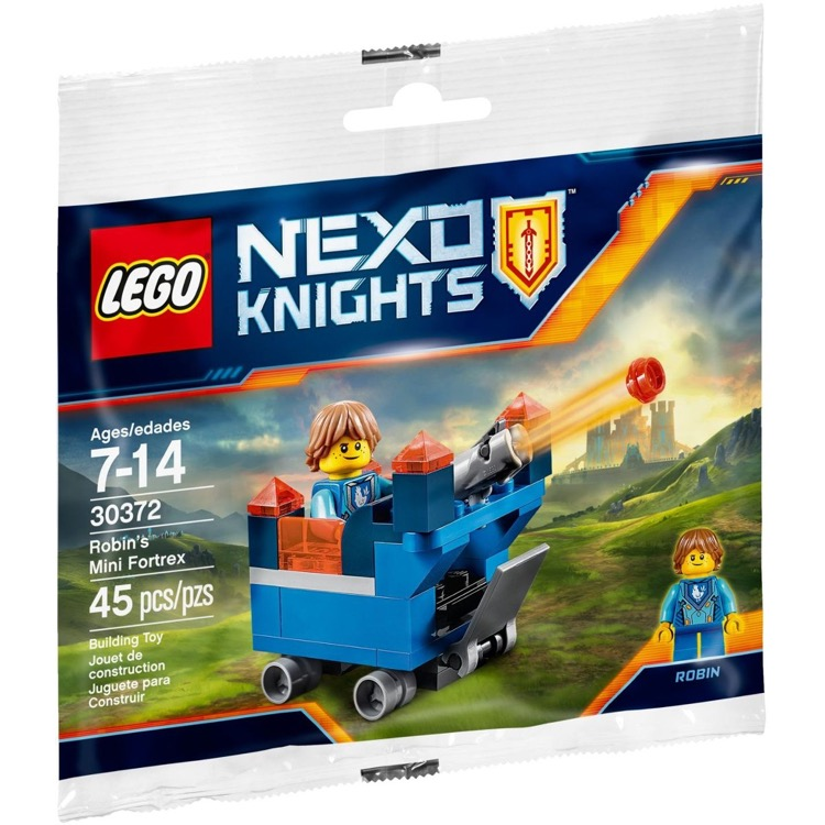 LEGO Nexo Knights Sets: 30372 Robin's Mini Fortrex NEW