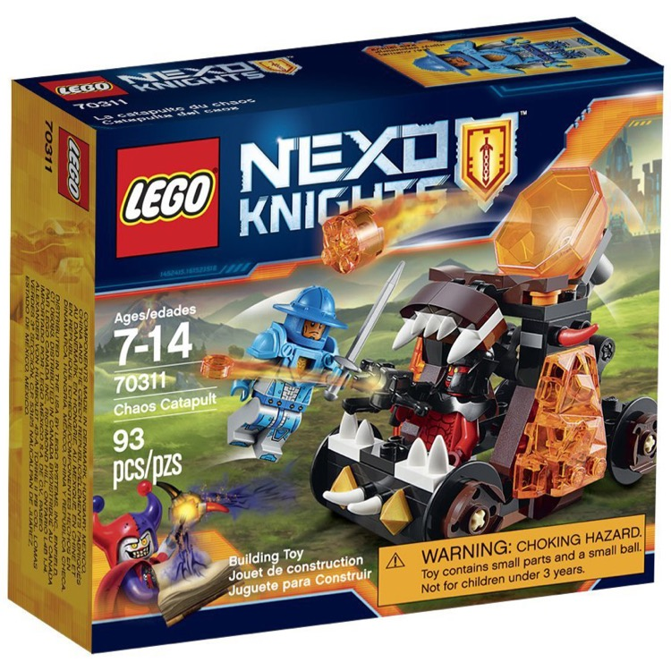 LEGO Nexo Knights Sets: 70311 Chaos Catapult NEW