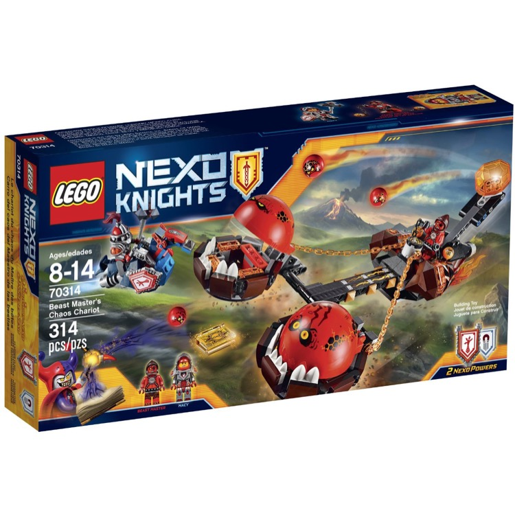 LEGO Nexo Knights Sets: 70314 Beast Master's Chaos Chariot NEW