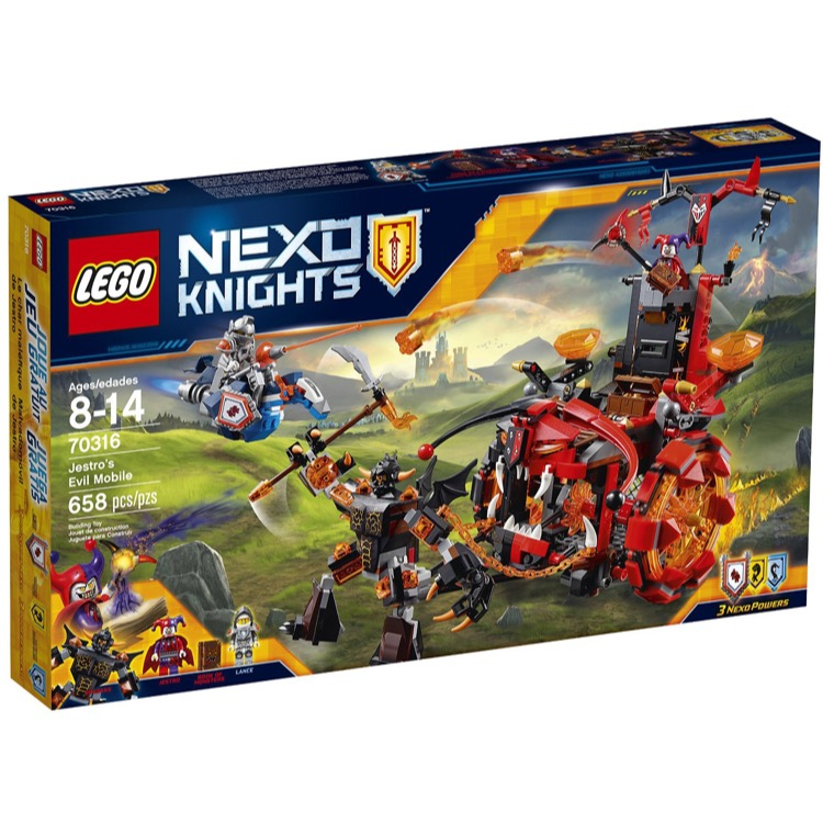 LEGO Nexo Knights Sets: 70316 Jestro's Evil Mobile NEW