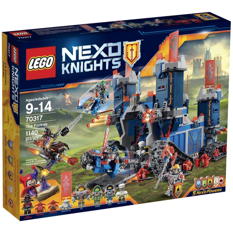LEGO Nexo Knights Sets: 70317 The Fortrex NEW