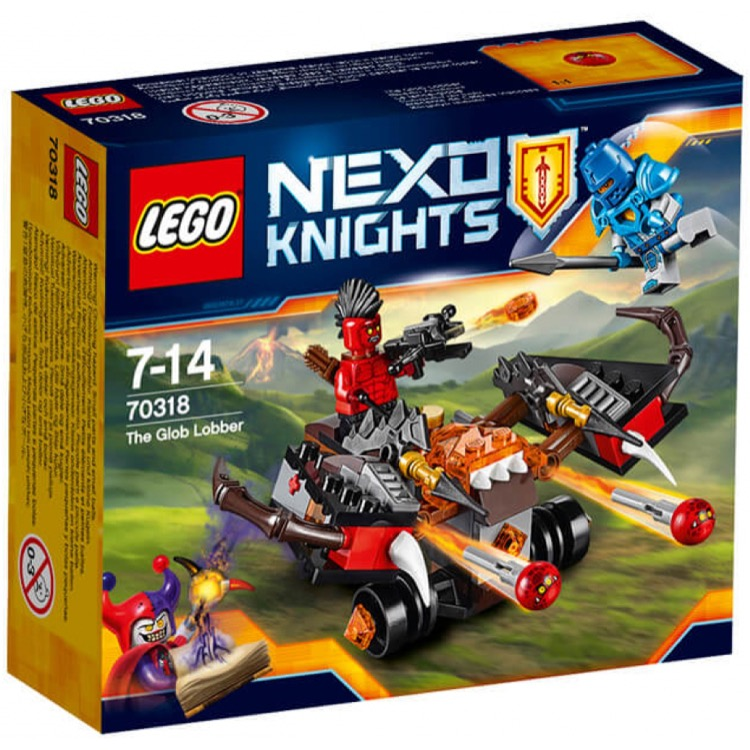 LEGO Nexo Knights Sets: 70318 The Glob Lobber NEW