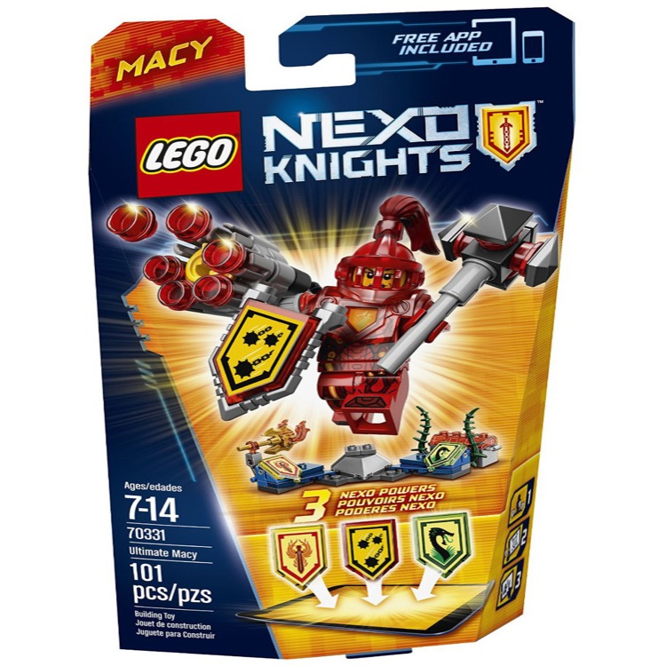 LEGO Nexo Knights Sets: 70331 Ultimate Macy NEW