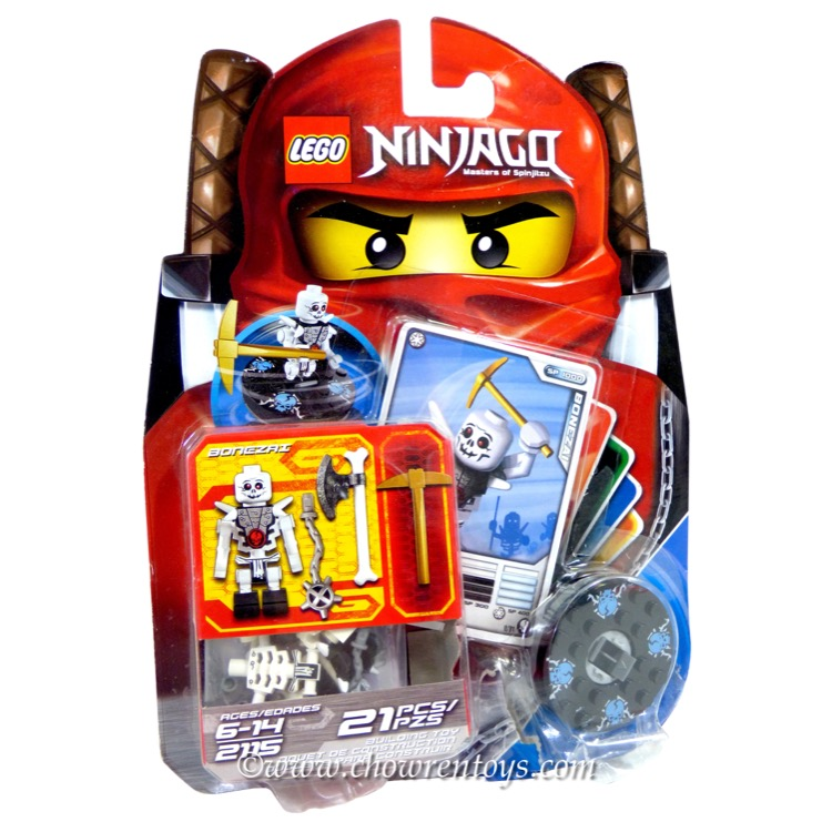 LEGO Ninjago Sets: 2115 Bonezai NEW *Damaged Box*