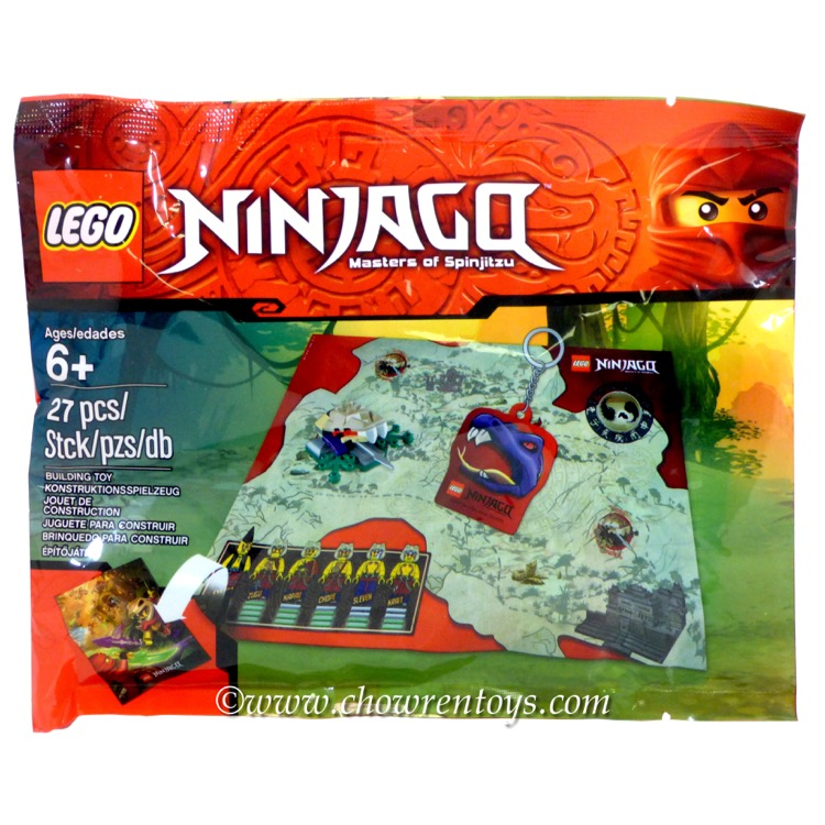 LEGO Ninjago Sets: 5002920 Ninjago Accessory Pack NEW