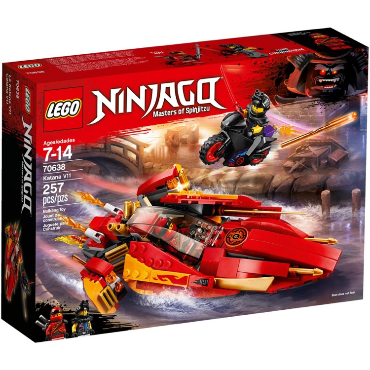 LEGO Ninjago Sets: 70638 Katana V11 NEW
