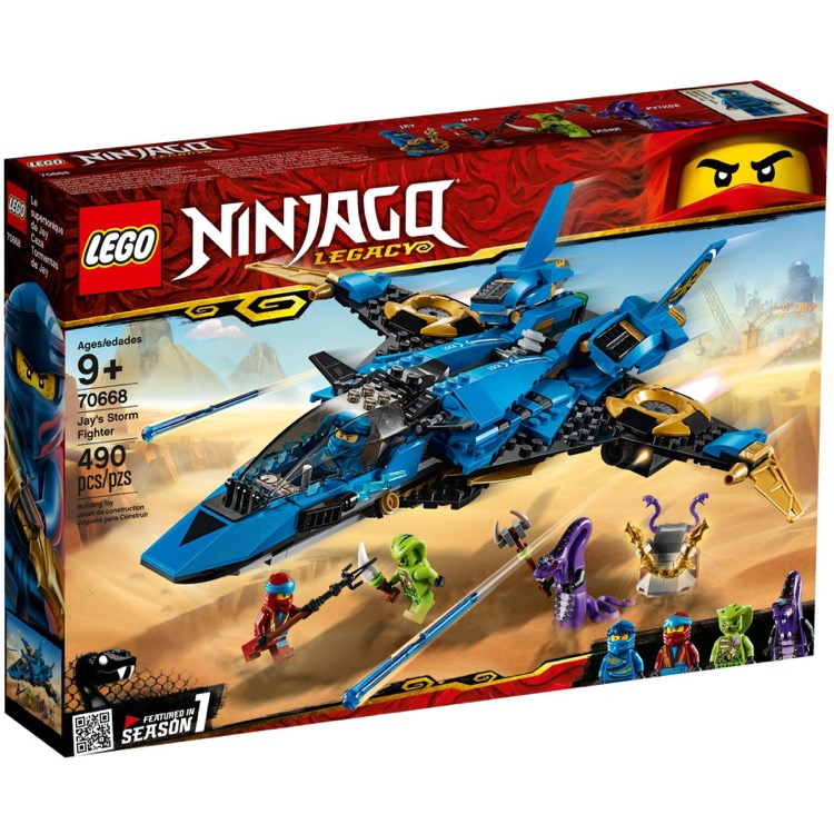 LEGO Ninjago Sets: 70668 Jay's Storm Fighter NEW