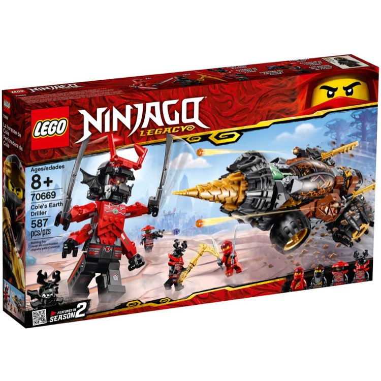 LEGO Ninjago Sets: 70669 Cole's Earth Driller  NEW