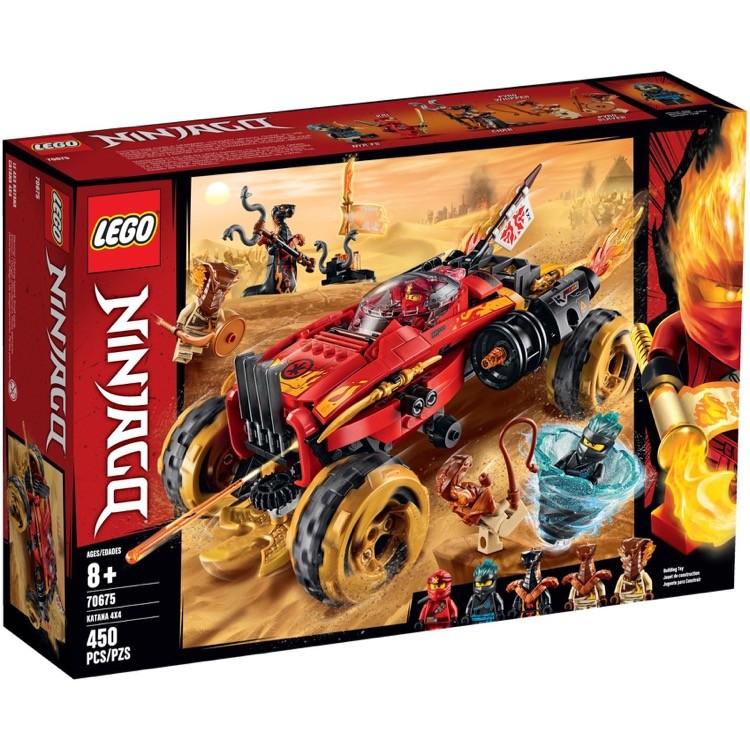 LEGO Ninjago Sets: 70675 Katana 4x4 NEW