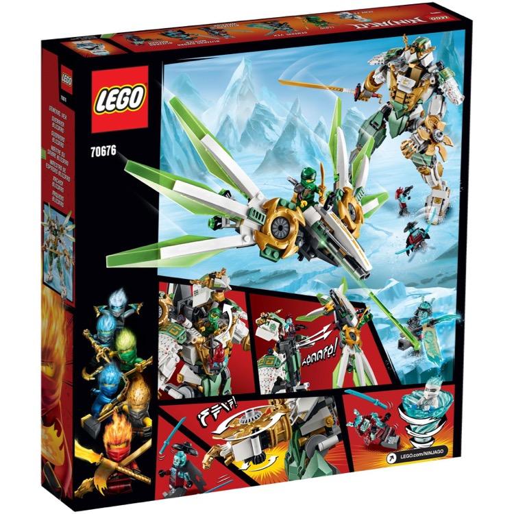 Lego Ninjago Sets 70676 Lloyd S Titan Mech New