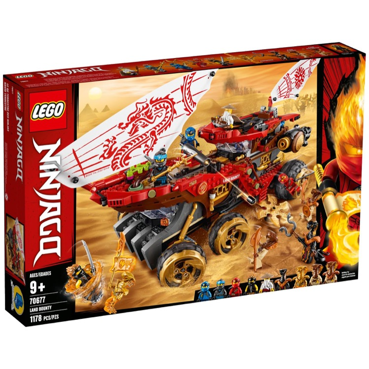 LEGO Ninjago Sets: 70677 Land Bounty NEW