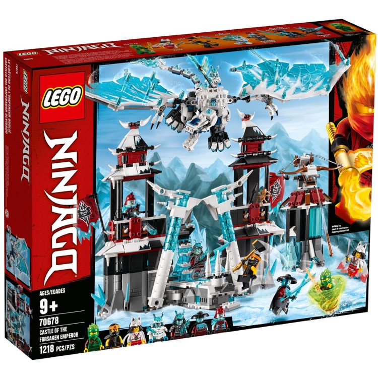 LEGO Ninjago Sets: 70678 Castle of the Forsaken Emperor NEW