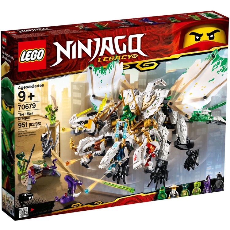 LEGO Ninjago Sets: 70679 The Ultra Dragon NEW