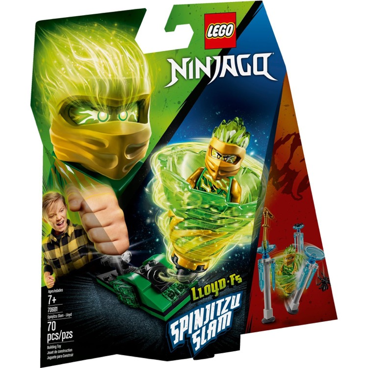 LEGO Ninjago Sets: 70681 Spinjitzu Slam - Lloyd NEW