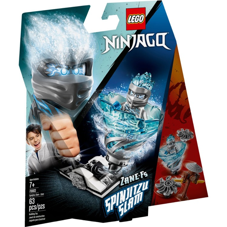 LEGO Ninjago Sets: 70683 Spinjitzu Slam - Zane NEW