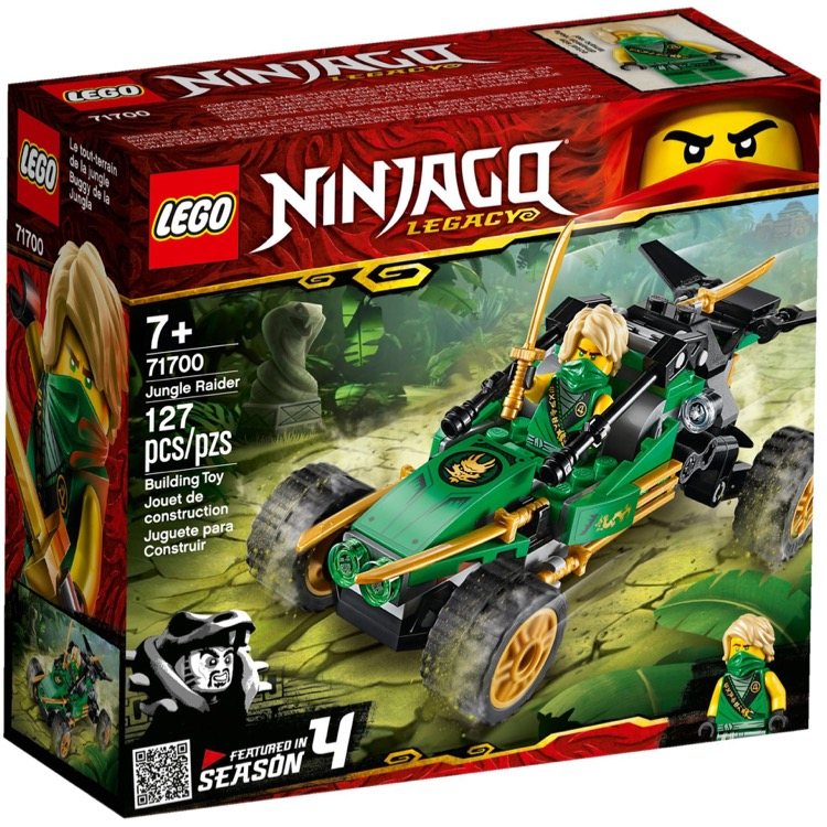 LEGO Ninjago Sets: 71700 Jungle Raider NEW