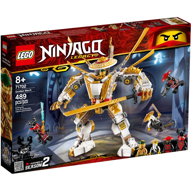 LEGO Ninjago Sets: 71702 Golden Mech NEW