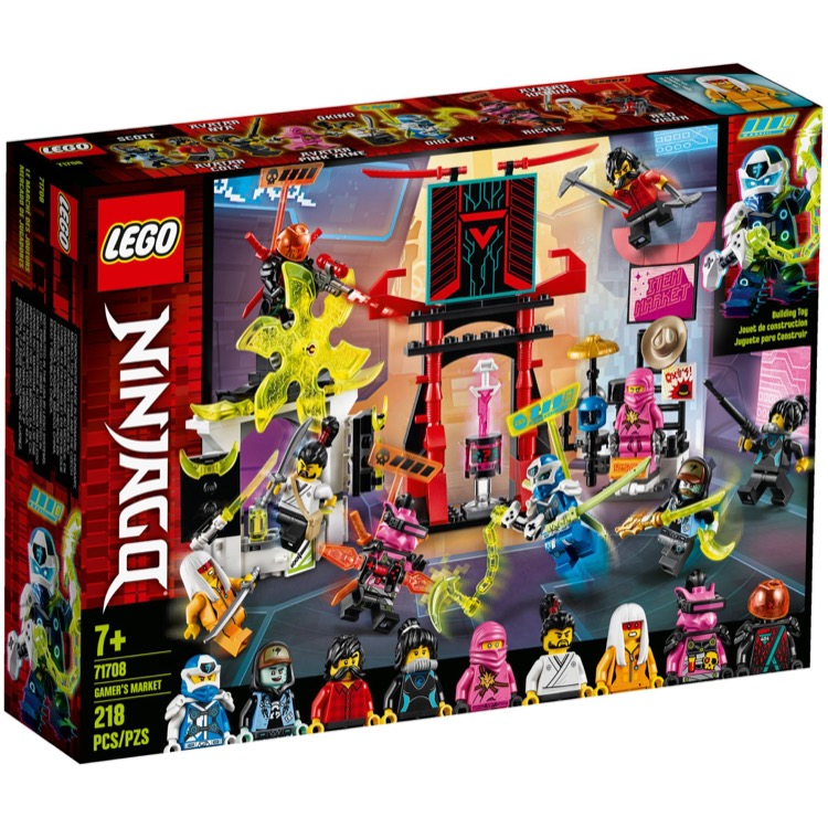 LEGO Ninjago Sets: 71708 Gamer's Market NEW