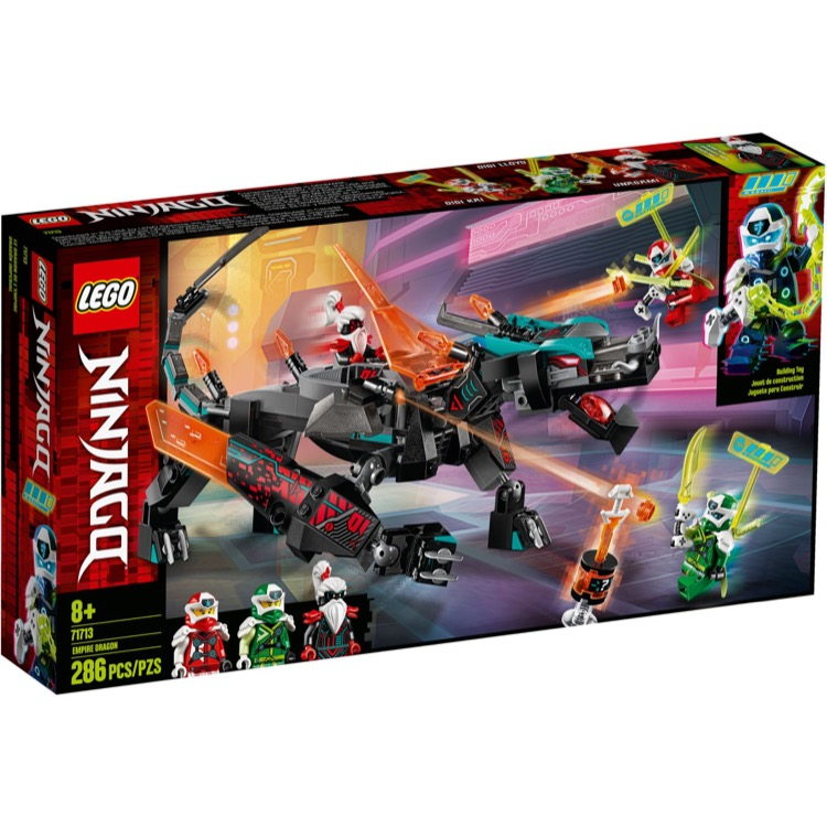 LEGO Ninjago Sets: 71713 Empire Dragon NEW