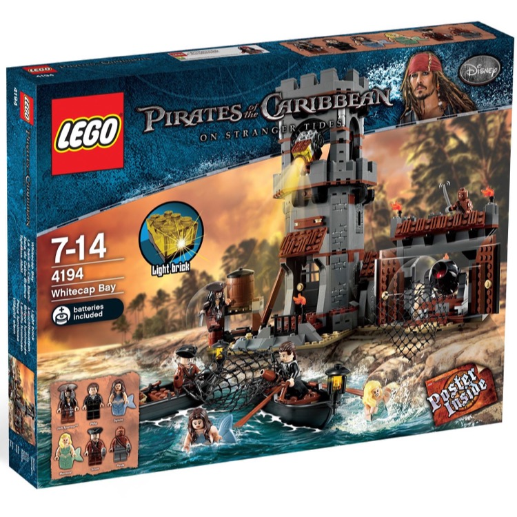 LEGO Pirates of the Caribbean Sets: 4194 Whitecap Bay NEW