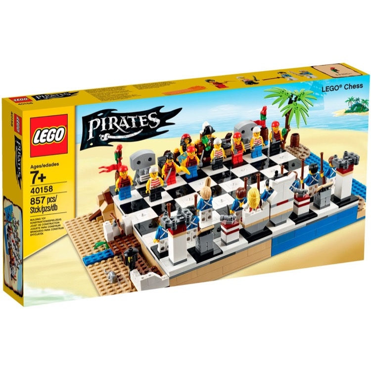 LEGO Pirates Sets: 40158 Pirates Chess Set NEW