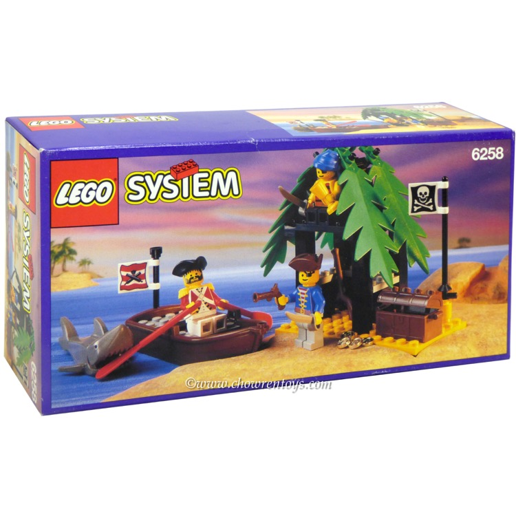 LEGO Pirates Sets: 6258 Smuggler's Shanty NEW