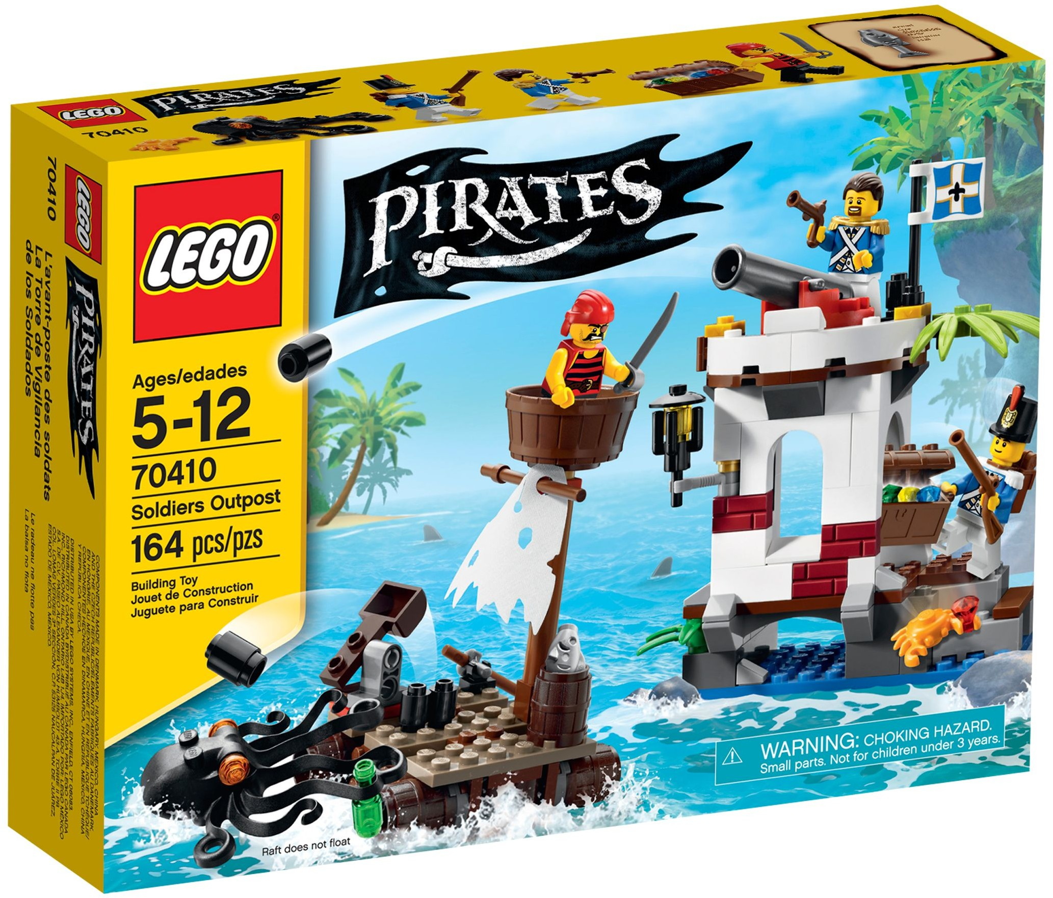 LEGO Pirates Sets: 70410 Soldiers Outpost NEW