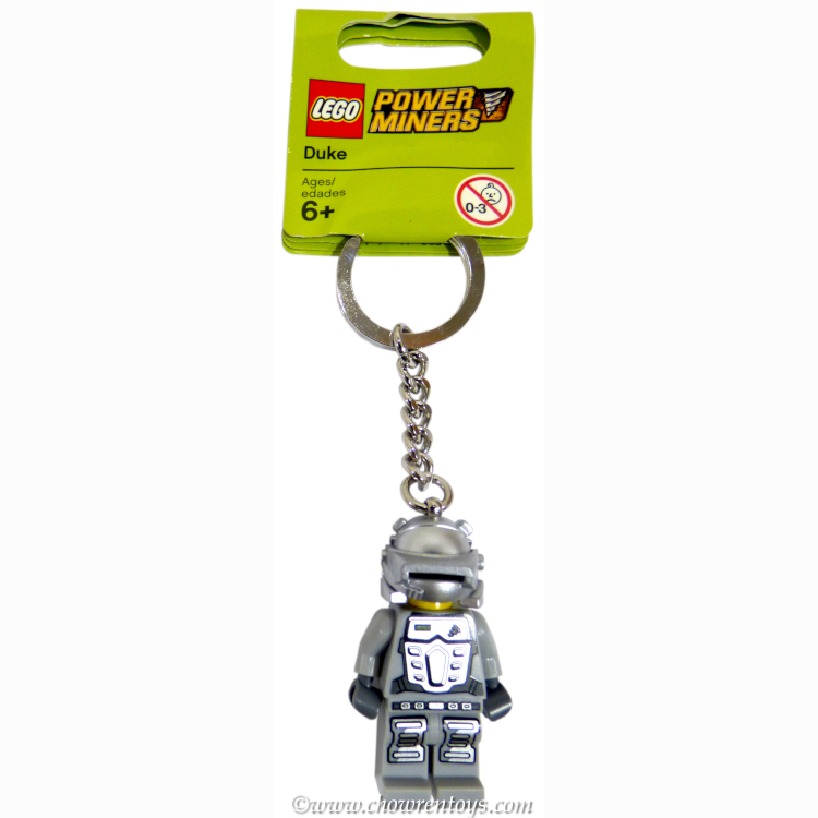 LEGO Power Miners Sets: 852863 Duke Key Chain NEW