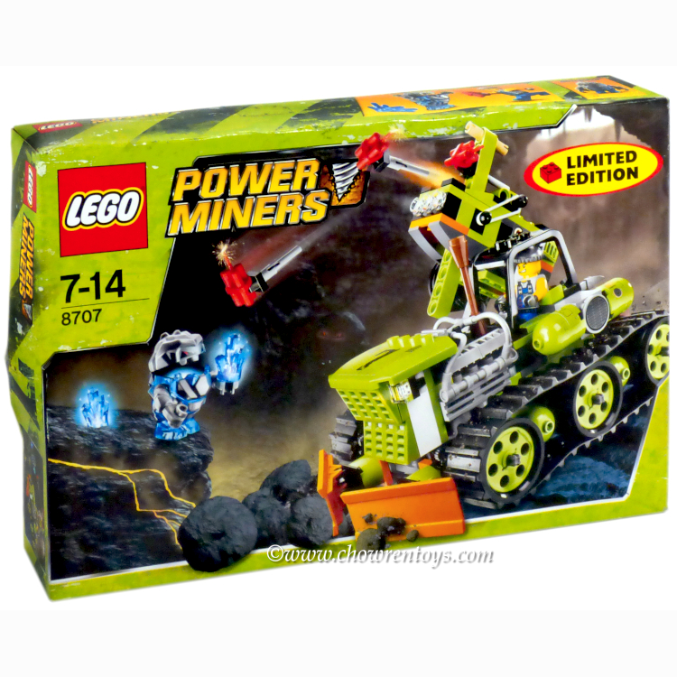 LEGO Power Miners Sets: 8707 Boulder Blaster NEW *Damaged Box*