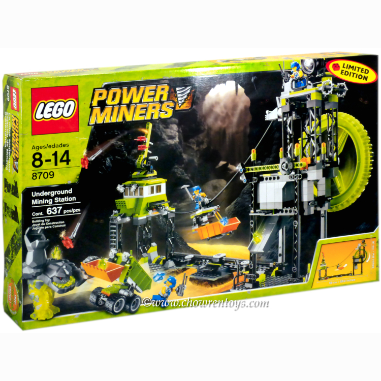 LEGO Power Miners Sets: 8709 Underground Mining Station NEW