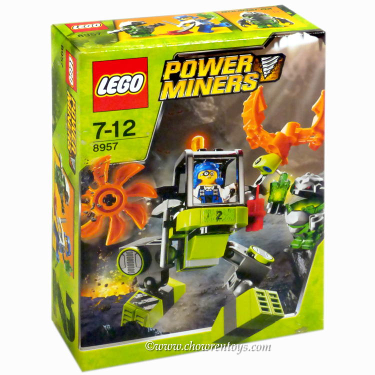 LEGO Power Miners Sets: 8957 Mine Mech NEW