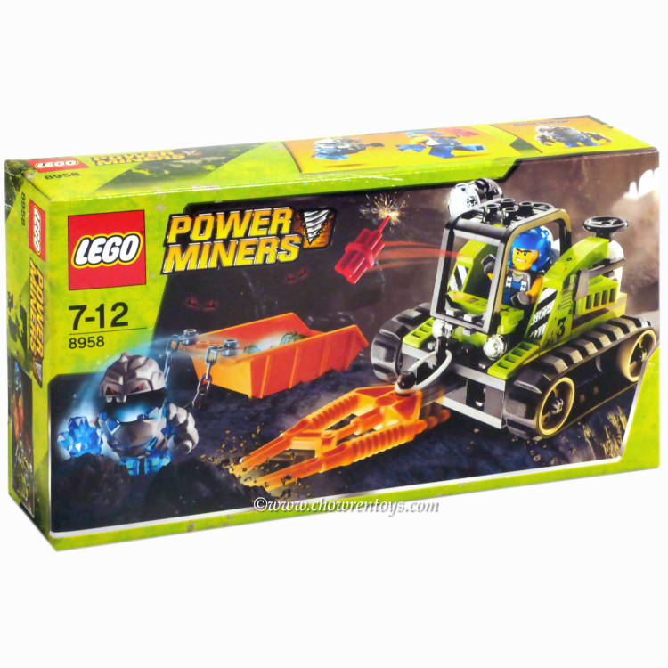 LEGO Power Miners Sets: 8958 Granite Grinder NEW