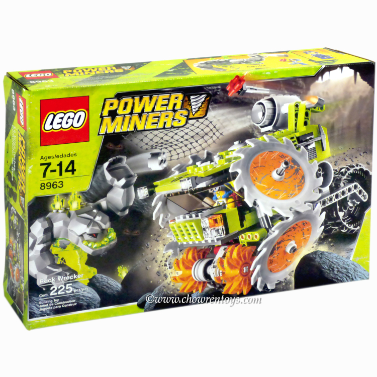 LEGO Power Miners Sets: 8963 Rock Wrecker NEW