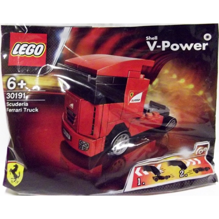 LEGO Racers Sets: Ferrari 30191 Scuderia Ferrari Truck Chinese Language Version NEW