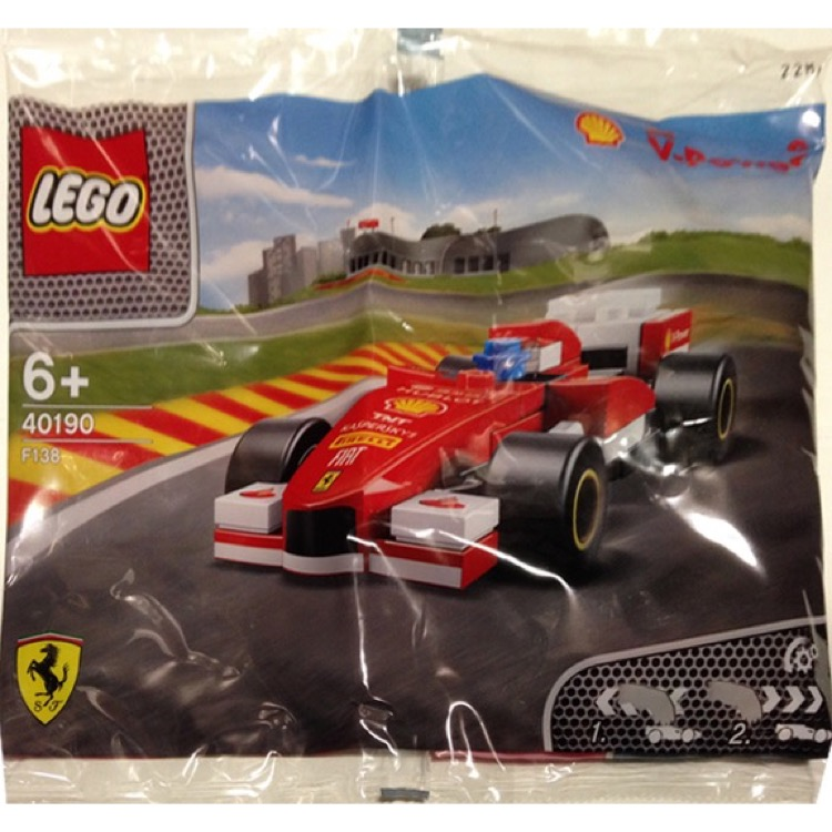 LEGO Racers Sets: Ferrari 40190 Ferrari F138 NEW