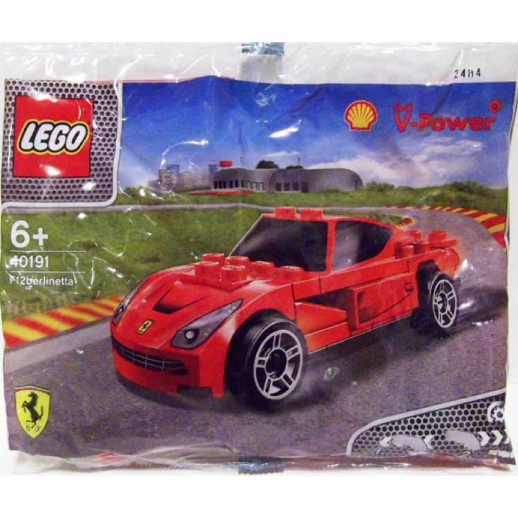 LEGO Racers Sets: Ferrari 40191 Ferrari F12 Berlinetta NEW