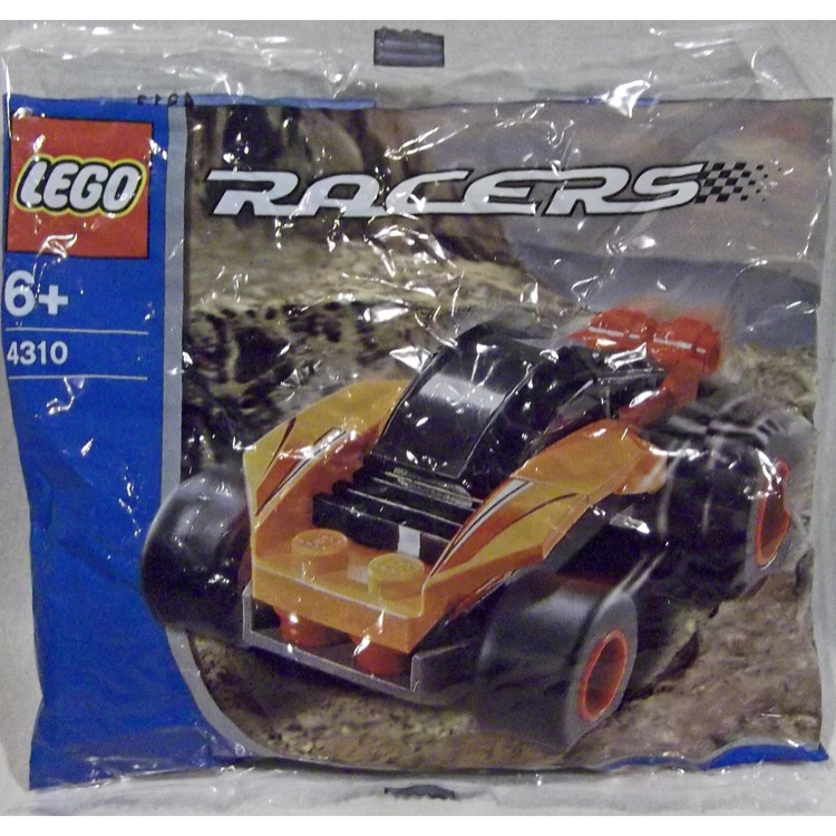 LEGO Racers Sets: 4310 Orange Racer NEW
