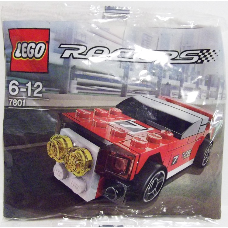 LEGO Racers Sets: Tiny Turbos 7801 Rally Racer NEW