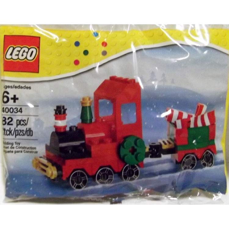 LEGO Seasonal Sets: Holiday 40034 Christmas Train NEW