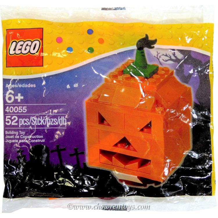 Lego Halloween Sets 2019.Lego Seasonal Sets 40055 Halloween Pumpkin New