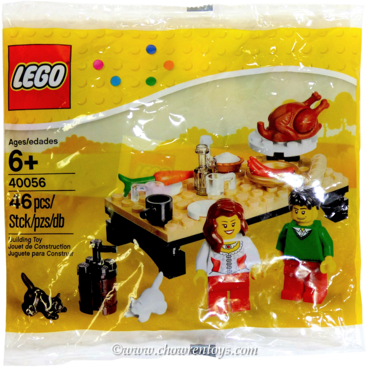 LEGO Seasonal Sets: Holiday 40056 Thanksgiving Feast NEW