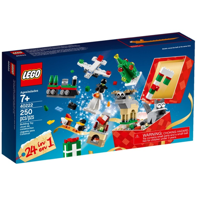 LEGO Seasonal Sets: Holiday 40222 24-in-1 Holiday Countdown NEW