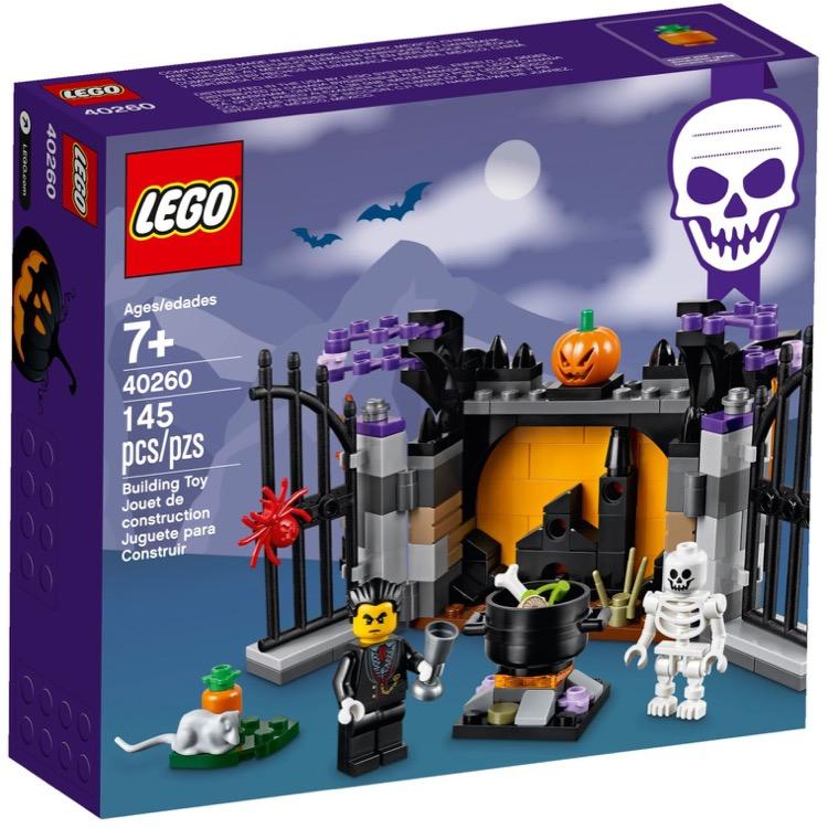 Lego Halloween Sets 2019.Lego Seasonal Sets 40260 Halloween Haunt New