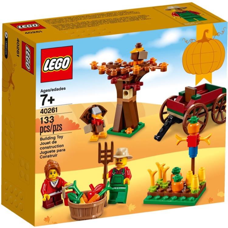Lego Christmas Set 2019.Lego Seasonal Sets Holiday 40261 Thanksgiving New