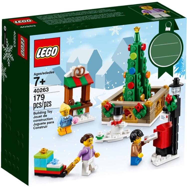 Lego Christmas Set 2019.Lego Seasonal Sets Holiday 40263 Christmas Town Square New
