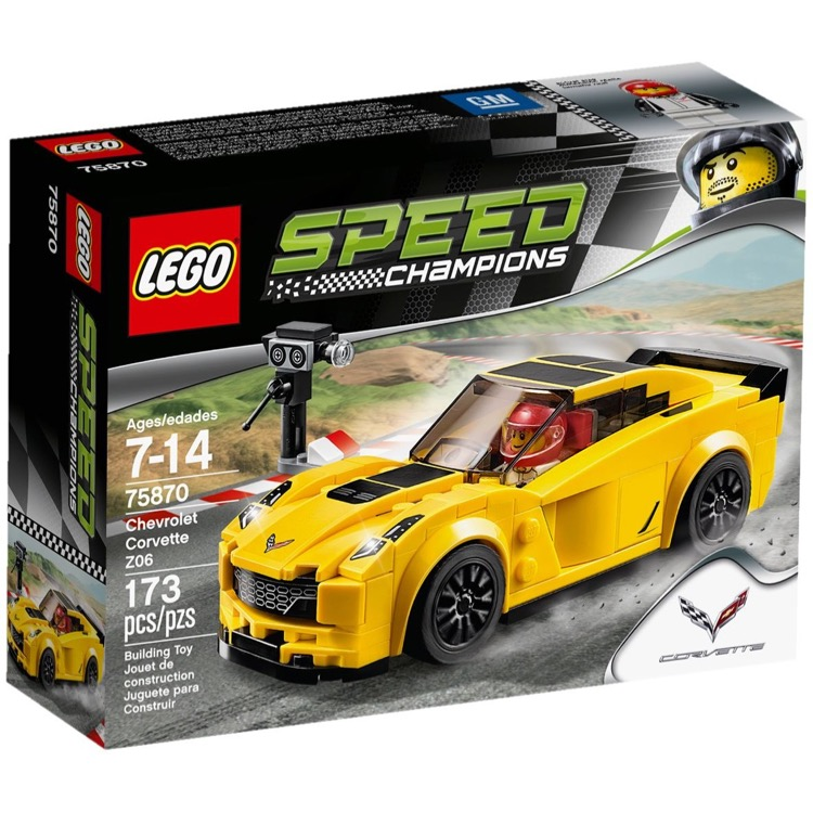 LEGO Speed Champions Sets: 75870 Chevrolet Corvette Z06 NEW