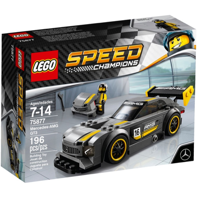 LEGO Speed Champions Sets: 75877 Mercedes-AMG GT3 NEW