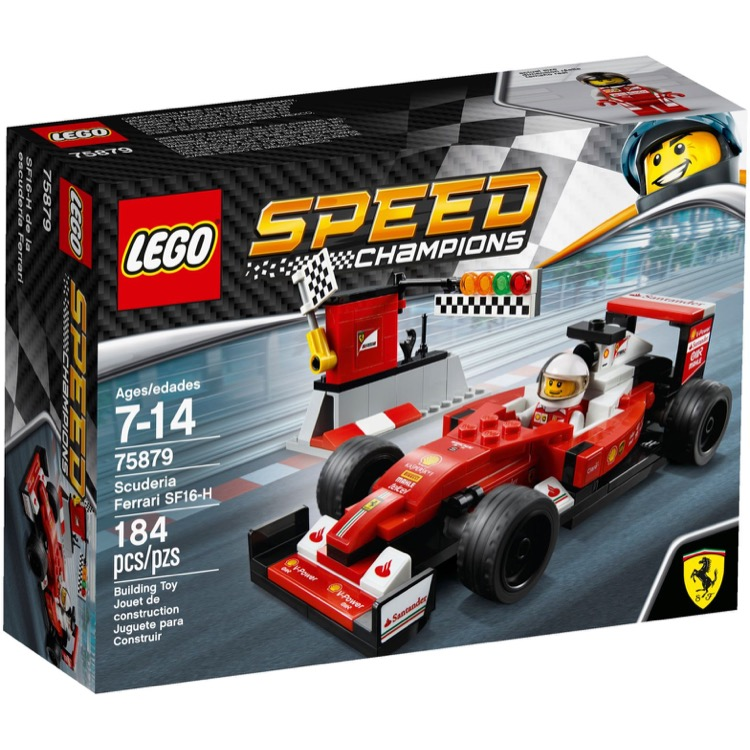 LEGO Speed Champions Sets: 75879 Scuderia Ferrari SF16-H NEW